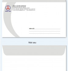 Phong bì thư 12×22 cm